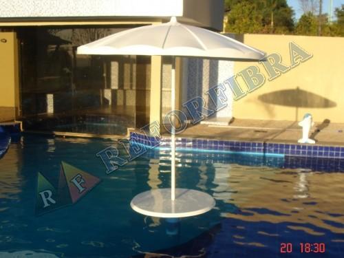 007 Mesa com Guarda Sol Prainha
