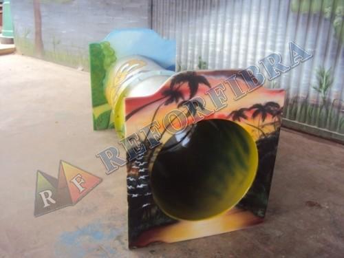 039 Túnel em Fibra de Vidro