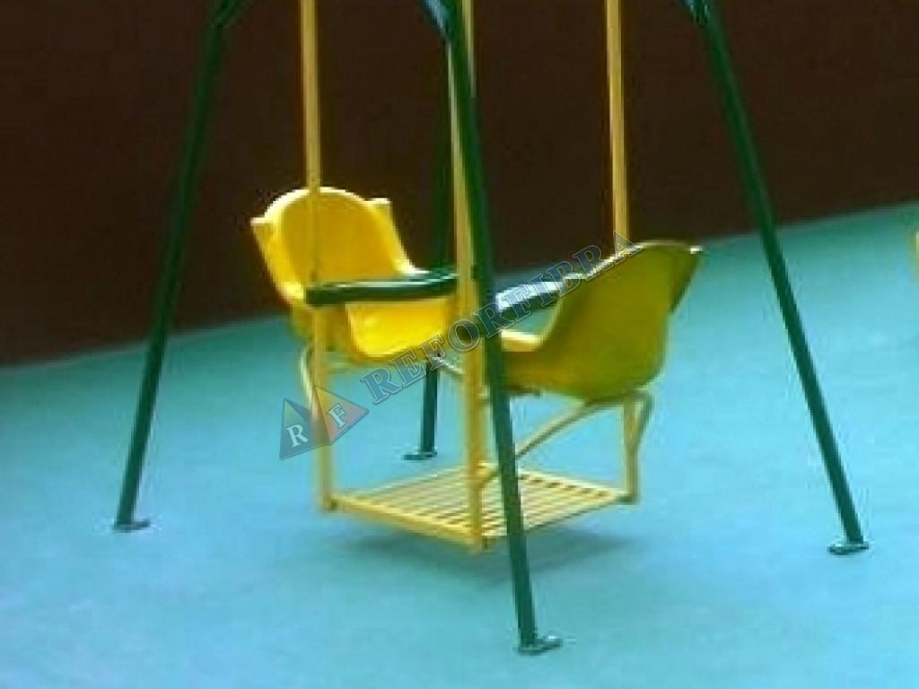 002 Balanço Terraço Cadeira em Fibra de Vidro