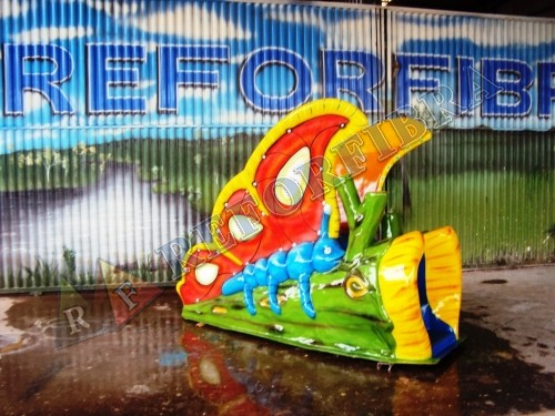 008 - Escorregador Aquático Modelo Borboleta